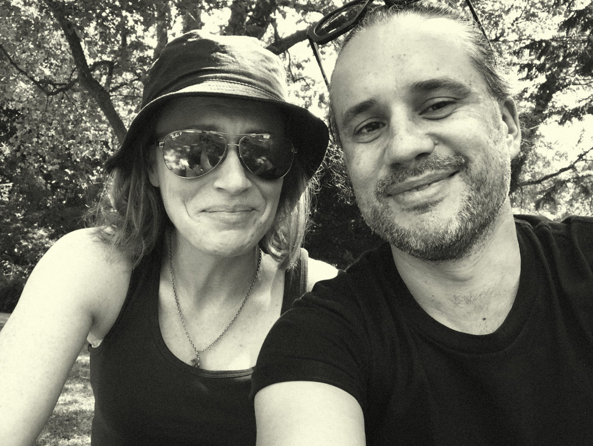 Naturopath Lisa Fitzgibbon and her partner 'pebbled' on Marijuana in an Amsterdam park